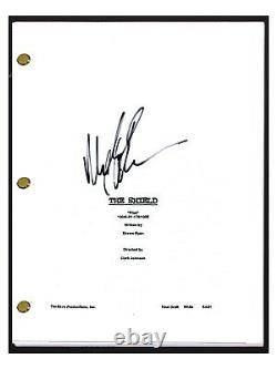 Michael Chiklis Signed Autographed THE SHIELD Pilot Episode Script COA