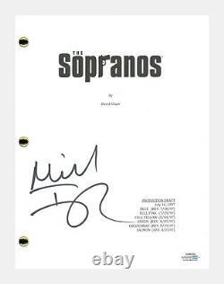 Michael Imperioli Signed Autographed THE SOPRANOS Pilot Episode Script ACOA COA