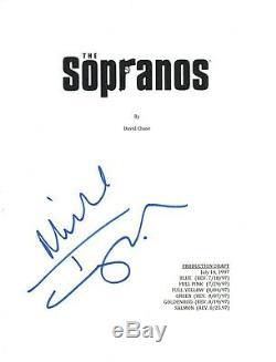 Michael Imperioli Signed Autographed THE SOPRANOS Pilot Episode Script COA