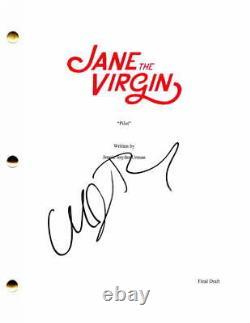 Michael Rady Signed Autograph Jane The Virgin Pilot Script Gina Rodriguez