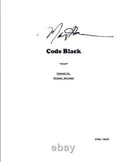 Michael Seitzman Signed Autograph CODE BLACK Pilot Episode Script Creator COA VD