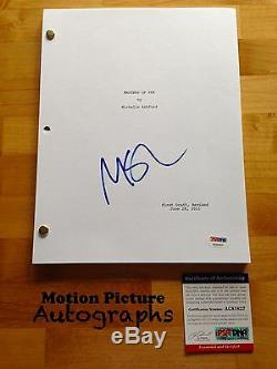 Michael Sheen Signed Masters Of Sex Pilot Episode Script Full 65 Pages Psa Coa