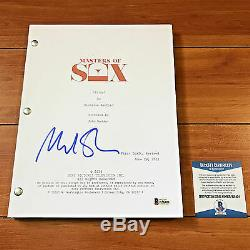 Michael Sheen Signed Masters Of Sex Pilot Full 65 Page Script Beckett Bas Coa
