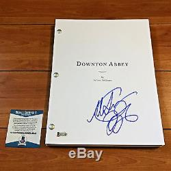 Michelle Dockery Signed Downton Abbey Full 67 Page Pilot Script Becket Bas Coa