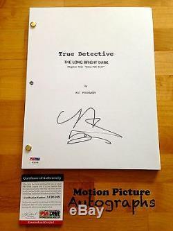 Michelle Monaghan Signed True Detective Full Pilot Script 53 Pages Psa Dna Coa