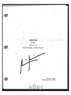 Miles Millar Signed Autographed SMALLVILLE Pilot Episode Script Show Creator COA