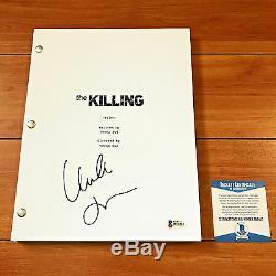 Mireille Enos Signed The Killing Full 66 Page Pilot Script Beckett Bas Coa