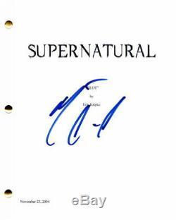 Misha Collins Signed Autograph Supernatural Full Pilot Script Castiel