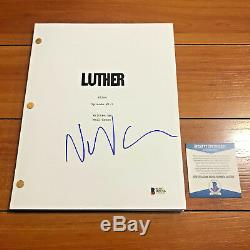 NEIL CROSS SIGNED LUTHER FULL 62 PAGE PILOT EPISODE SCRIPT with BECKETT BAS COA
