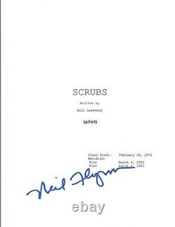 Neil Flynn Signed Autographed SCRUBS Pilot Episode Script COA