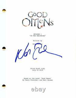Neil Gaiman Signed Autograph Good Omens Pilot Script American Gods The Sandman