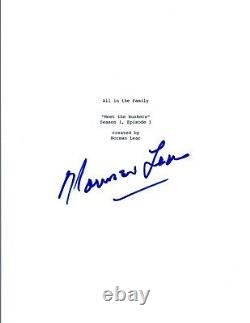Norman Lear Signed Autographed ALL IN THE FAMILY Pilot Episode Script COA VD