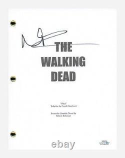 Norman Reedus Signed Autographed The Walking Dead Pilot Script ACOA COA