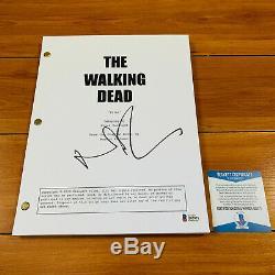 Norman Reedus Signed The Walking Dead Full 61 Page Pilot Script Beckett Bas Coa