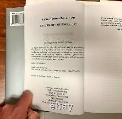ORIGINAL Signed Autograph Colonel Paul Tibbets Pilot B-29 Return Enola Gay Book