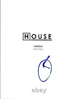 Omar Epps Signed Autographed HOUSE Pilot Episode Script COA VD