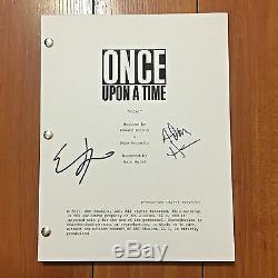 Once Upon A Time Signed Pilot Script By Creators Adam Horowitz & Edward Kitsis