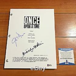 Once Upon A Time Signed Pilot Script By Ginnifer Goodwin Josh Dallas Beckett Coa
