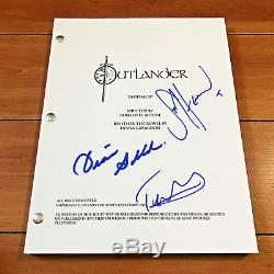 Outlander Signed Full 61 Page Pilot Script By 3 Cast Members Sam Heughan + More