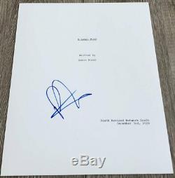 PATRICK J. ADAMS SIGNED AUTOGRAPH SUITS 85 PAGE PILOT SCRIPT withPROOF