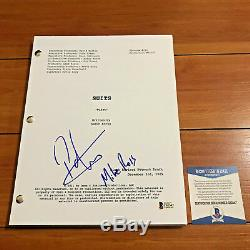 PATRICK J ADAMS SIGNED SUITS FULL 85 PAGE PILOT EPI SCRIPT with BECKETT BAS COA