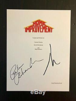 Patricia Richardson & Tim Allen Signed Autograph Home Improvement Pilot Script