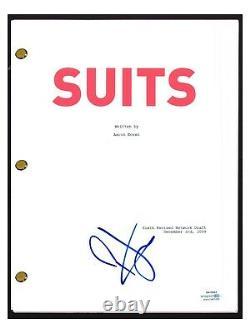 Patrick J Adams Signed Autograph SUITS Pilot Episode Script Screenplay ACOA COA