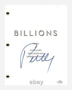 Paul Giamatti Signed Autograph Billions Pilot Episode Script Screenplay ACOA COA