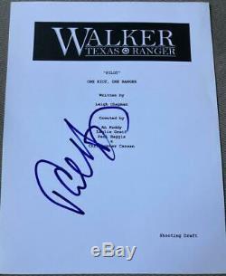 Paul Haggis Signed Autograph Walker Texas Ranger Rare Full Pilot Script Coa