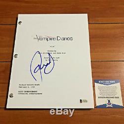 Paul Wesley Signed The Vampire Diaries Full 63 Page Pilot Script Beckett Bas Coa
