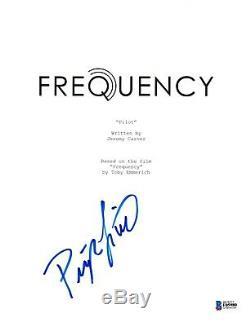 Peyton List Signed Frequency Pilot Episode Script Beckett Bas Autograph Auto