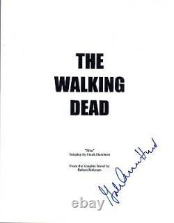 Producer Gale Anne Hurd Signed Autographed THE WALKING DEAD Pilot Script COA