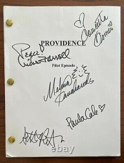 Providence' TV Pilot Episode Autographed Script by Melina Kanakaredes & 4 more