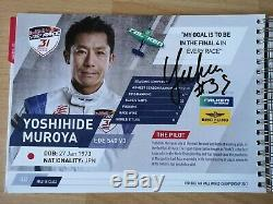 RED BULL AIR RACE Media/Press Kit Book 2017 signed all Pilots, Bessenyei, Bonhomme