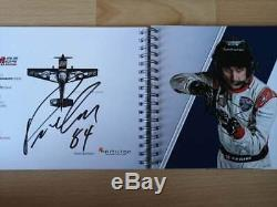 RED BULL AIR RACE Media/Press Kit Book 2018 signed all Pilots Felix Baumgartner