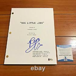 REESE WITHERSPOON SIGNED BIG LITTLE LIES 58 PAGE PILOT SCRIPT with BECKETT BAS COA