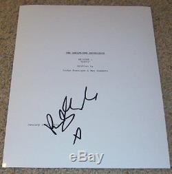 RILEY KEOUGH SIGNED AUTOGRAPH THE GIRLFRIEND EXPERIENCE PILOT SCRIPT withPROOF