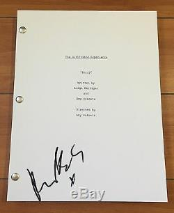 RILEY KEOUGH SIGNED THE GIRLFRIEND EXPERIENCE PILOT SCRIPT with EXACT PROOF AUTO