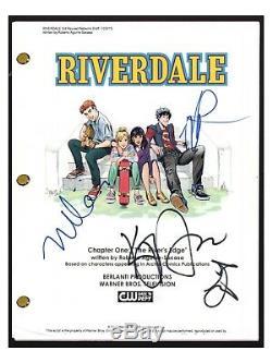 RIVERDALE Cast Signed Autographed Pilot Script By 4 KJ Apa Madchen Amick COA