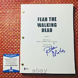 RUBEN BLADES SIGNED FEAR THE WALKING DEAD FULL PILOT SCRIPT with BECKETT BAS COA