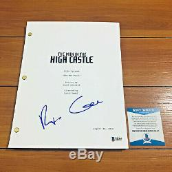 RUFUS SEWELL SIGNED MAN IN THE HIGH CASTLE FULL PILOT SCRIPT with BECKETT BAS COA