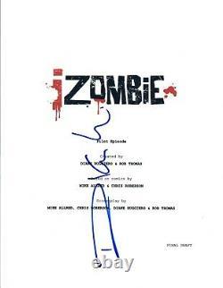 Rahul Kohli Signed Autographed iZOMBIE Pilot Episode Script COA VD