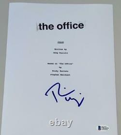 Rainn Wilson Signed Autograph The Office Full Pilot Ep Script Beckett Coa