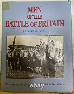 Rare Book The Men of the Battle Of Britain Signed By 17 BOB Pilots & Aces