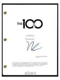 Richard Harmon Signed Autographed THE 100 Pilot Episode Script John Murphy COA