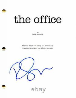 Ricky Gervais Signed Autograph The Office Full Pilot Script Show Creator, Rare