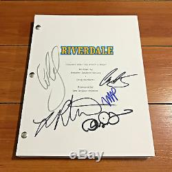 Riverdale Signed Full Pilot Script By 5 Cast Members LILI Reinhart Cole Sprouse