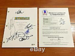 Riverdale Signed Pilot Script By 4 Cast Members LILI Reinhart Cole Sprouse Coa