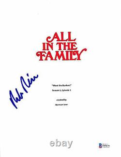 Rob Reiner Authentic Signed All In The Family TV Pilot Script Cover BAS #F99179