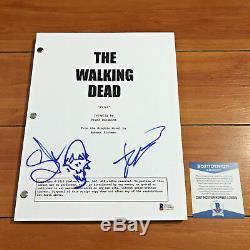 Robert Kirkman & Greg Nicotero Signed The Walking Dead Pilot Script Beckett Coa